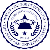 Baylor College of Dentistry at Baylor University Logo
